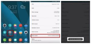 Huawei Honor enable USB Debugging1