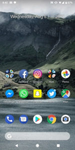 Android 9 Pie Launcher APK Downloads