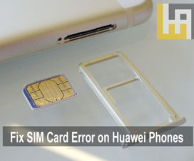 Fix SIM Card not inserted error on Huawei Honor phones