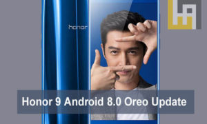 Honor 9 Android 8.0 Oreo EMUI 8.0 update