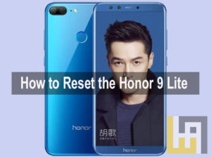 Reset Honor 9 Lite Factory Settings